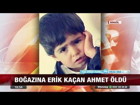 Boğazına Erik Kaçan Ahmet Öldü!   1 Ağustos 2017
