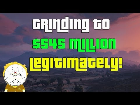 GTA Online Grinding To $545 Million Legitimately And Helping Subs thumbnail