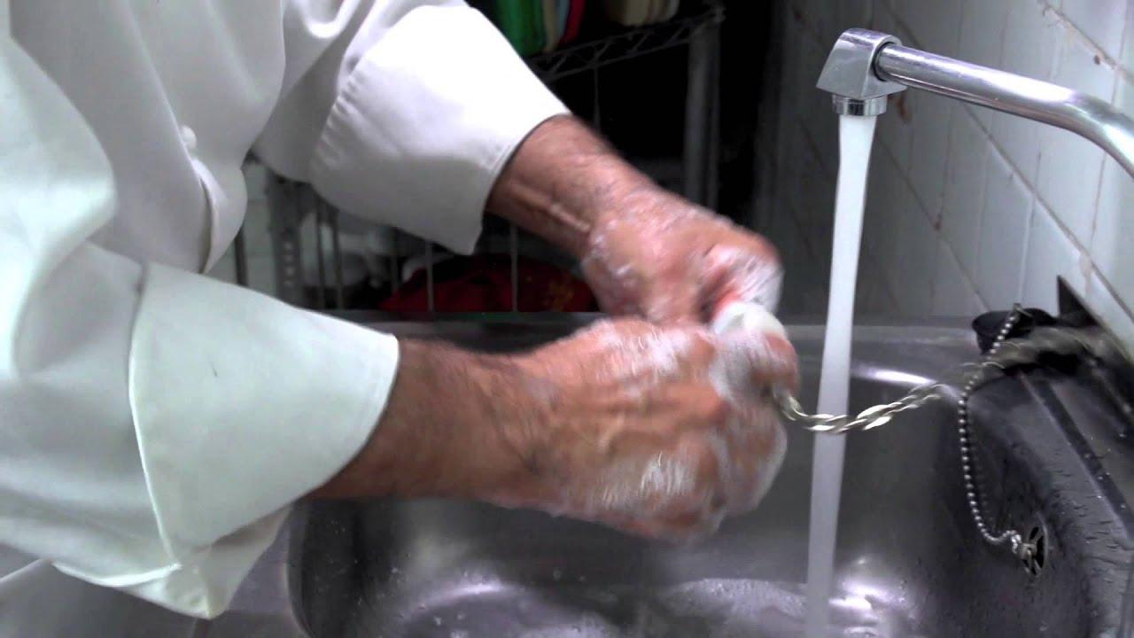 Lavar las manos campus virtual de cocina youtube for Lavado de manos en la cocina