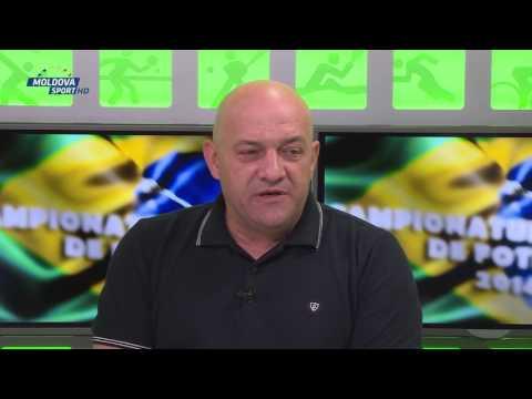 Gabi Balint la Ecoul Sportului cu Mihai Burciu la Moldova Sport TV Ediția 27 (4 iulie 2014)