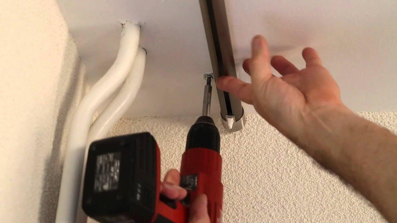 Binnenlooproede plafondmontage - YouTube
