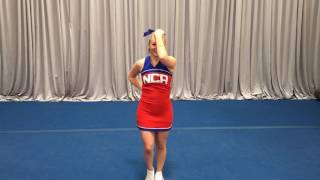 nca tryout material 2017 long dance back to music