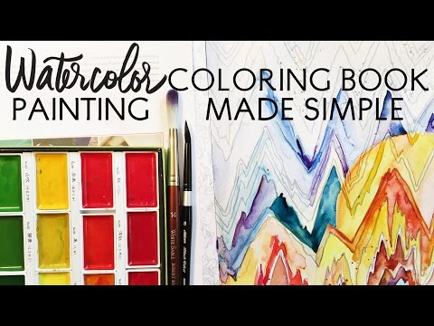 watercolor-coloring-book-painting-made-simple