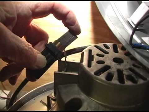 How to replace the carbon brushes and motor on a sebo x for Miele vacuum motor burn out