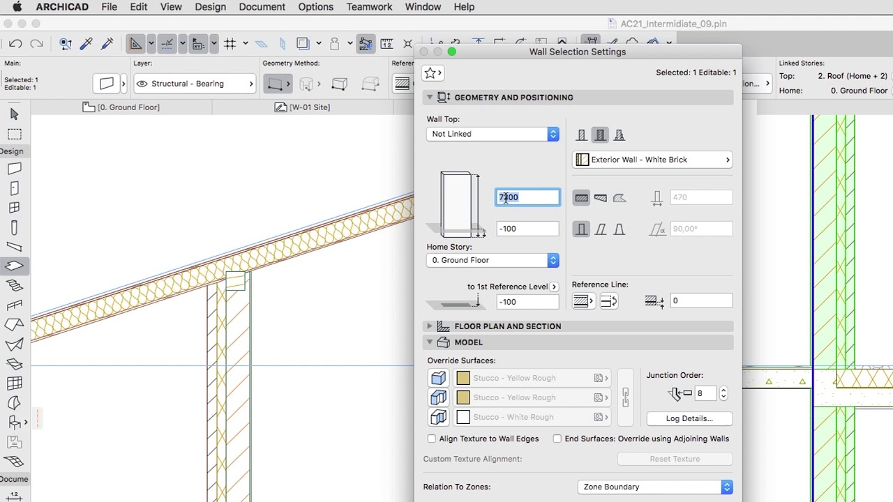 Modeling Issues - ARCHICAD Training Series 3 - 23/84