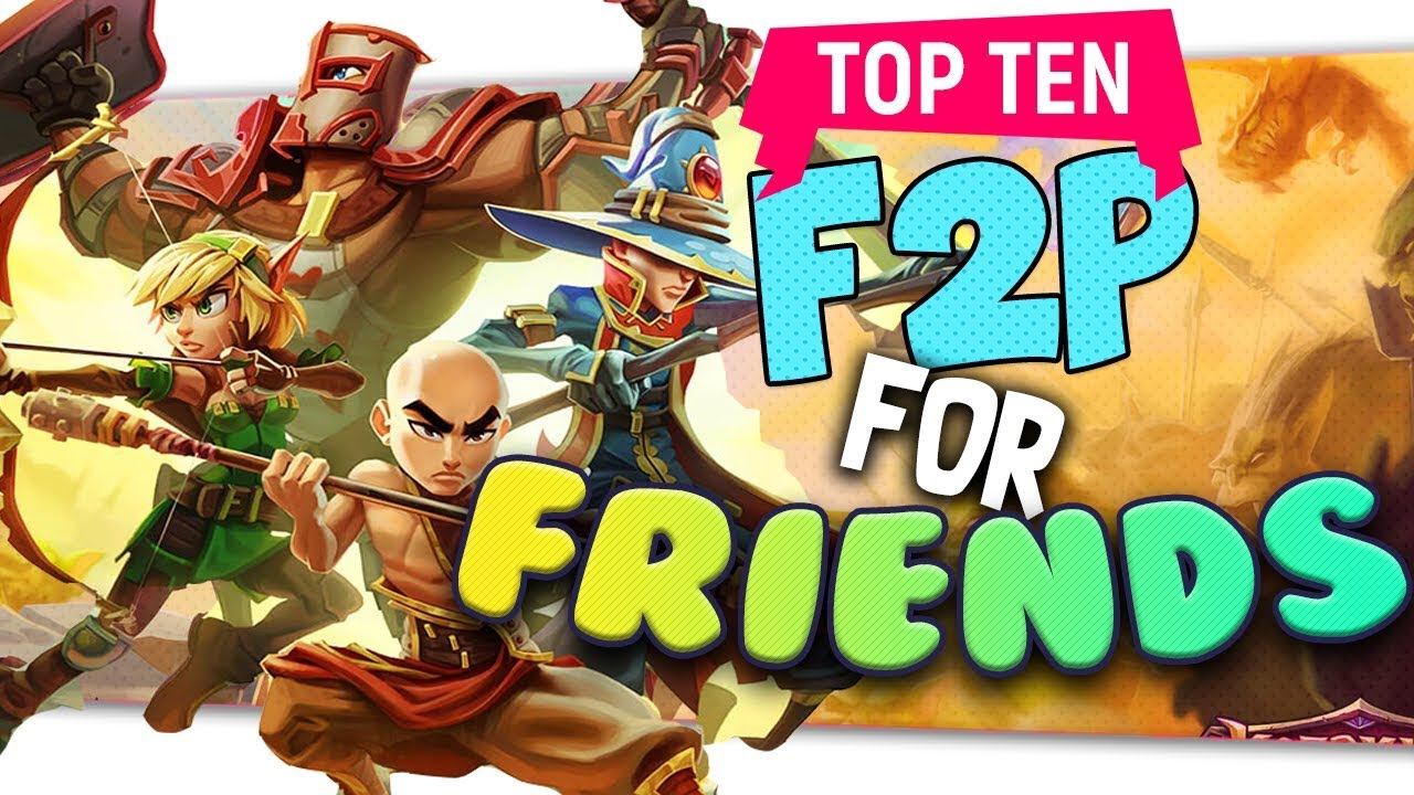 The Best Free Games To Play With Your Friends Youtube