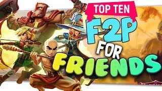 "👪 Top Ten ""Free Games To Play With Friends"" By Skylent 2018"