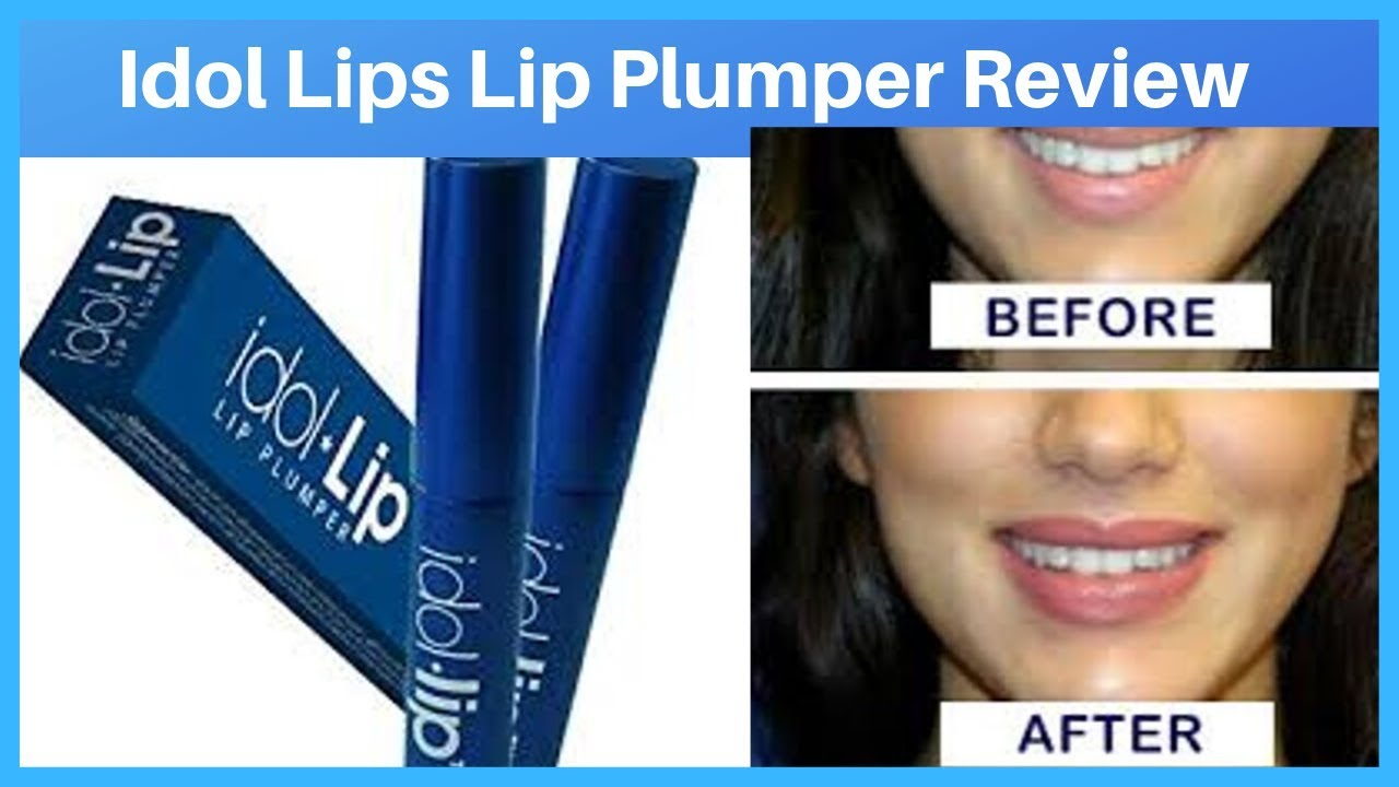 Best Lip Plumper 2020.Idol Lips Lip Plumper Review 2020 Youtube