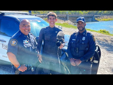 Download Part 2 - Helping POLICE Locate STOLEN Cars Live!! (Scuba Diving)