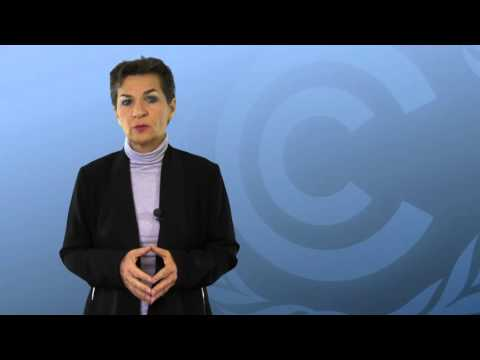 UNFCCC chief Christina Figueres adresses Cop21 meeting in New York