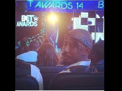 2014  BET AWARD 2Pac Tupac