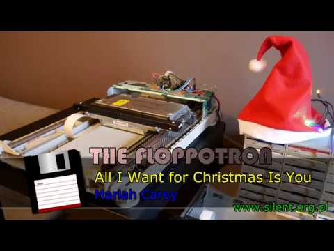 The Floppotron: All I Want for Christmas Is You
