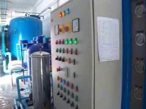 เครื่องกรองน้ำ RO โรงน้ำแข็งหลอดและซอง กำลังผลิต 30 คิวต่อชั่วโมง