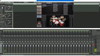 Samplitude ProX4: Steven Slate Drums SSD5 Multiple Outs