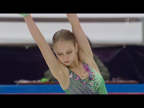 Короткая программа. Женщины. Москва. Кубок России по фигурному катанию 2020/21