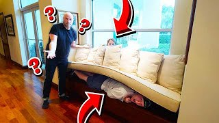 *EXTREME* HIDE & SEEK IN JOHN TRAVOLTA'S MANSION!