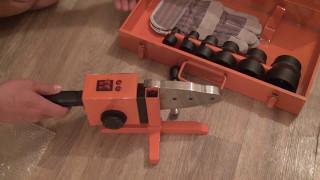видео Аппараты для раструбной сварки
