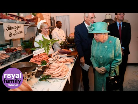 'Disgusting, Yes!' The Queen Jokes About Fish Paste Sold In 1950s