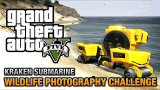 gta 5 wildlife photography challenge kraken submarine ps4 xbox one