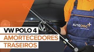Instalar Amortecedor dianteiro e traseiro VW POLO (9N_): vídeo grátis