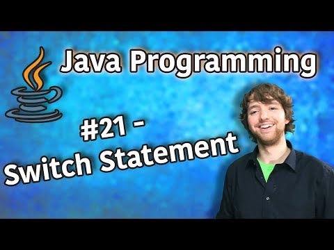 java-programming-tutorial-21---switch-statement