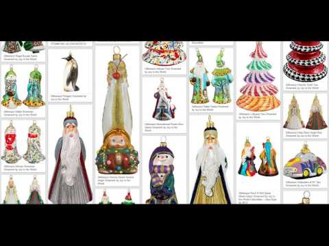 Christmas Ornaments  - 108 Designers & Companies - Product Highlights