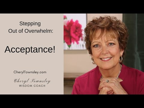Step Out of Stress Strategy 4: Acceptance
