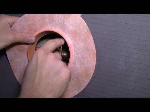 How to Tile a Bathroom 29: Waterproof Seals & Boards
