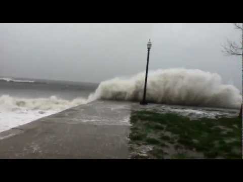 Seaside park-Bridgeport CT.-hurricane Sandy