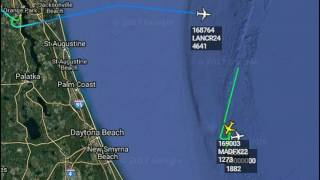 What Are They Looking For? Mutiple Anti-Submarine Aircraft Circling Off Florida Coast