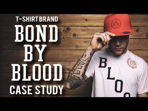 T shirt Brand Case Study  Bound By Blood