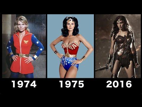 Wonder woman Transformation Movie [1974-2016] - Compilation