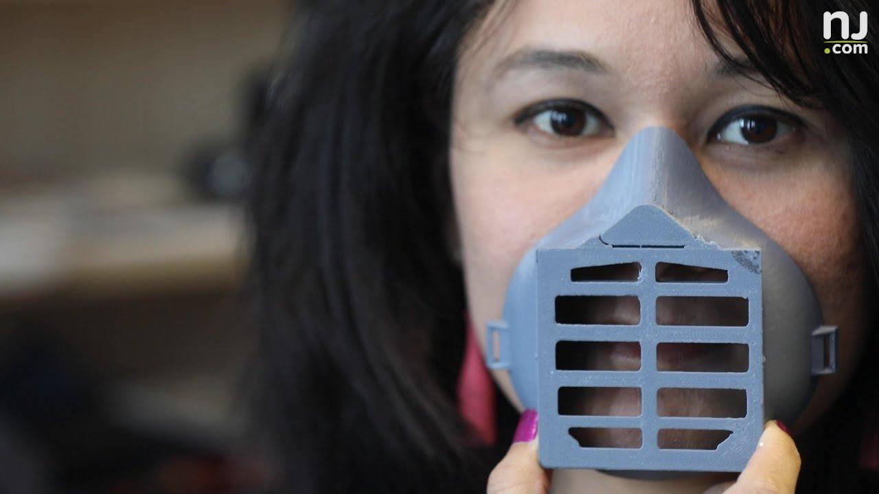 3D printer in N.J. making respirator masks to help protect from coronavirus
