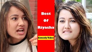 Best Comedy of Riyasha Dahal | Clips of Colleges Nepal | Nepali Comedy Video | Ramailo Tv