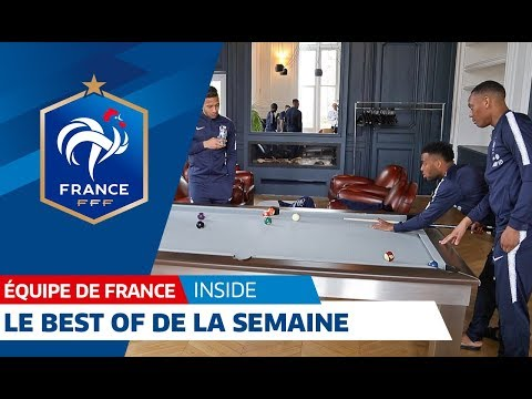 Equipe de France : Best of de la semaine, inside I FFF 2018