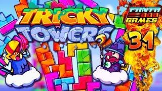 AVEC LA LANGUE ! - Ep 31 - Tricky Towers avec Fanta et Bob