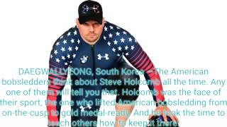 In four-man bobsled, Americans miss Steve Holcomb, on and off the track