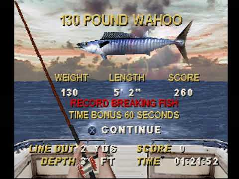 Saltwater Sportfishing PS1 Gameplay - YouTube