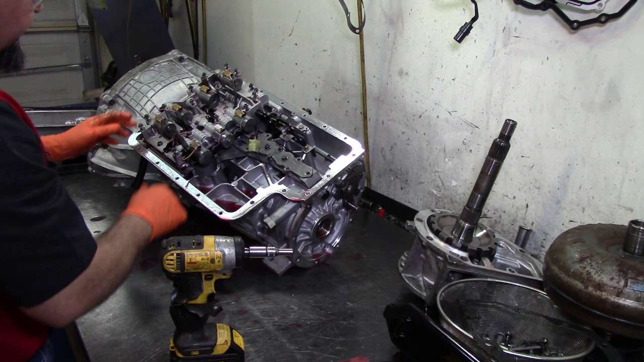 5R110W (TorqShift)Transmission Teardown Inspection on
