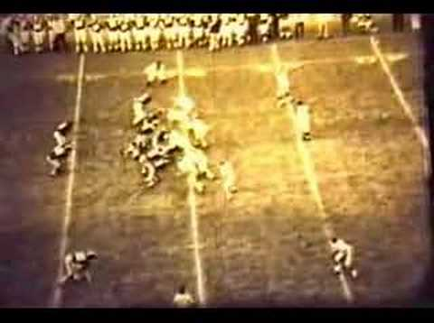 Marshall Thundering Herd - Game's final moments ECU 1970