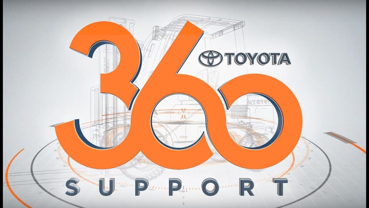 Introducing Toyota 360 Support | Toyota Forklifts
