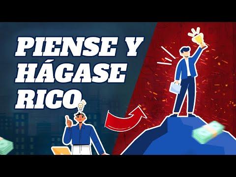 Piense y Hagase Rico por Napoleon Hill - resumen del libro en español
