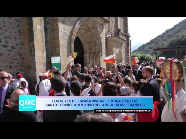 Los Reyes de España Cercanos con el Pueblo en Liébana
