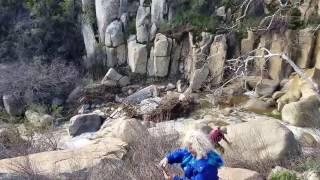 hike to ortega falls in lake elsinore