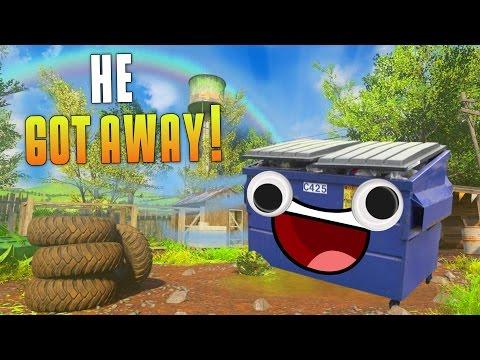 HE GOT AWAY! (Prop Hunt Gameplay On Modern Warfare Remastered) This Is So Fun! - MatMicMar