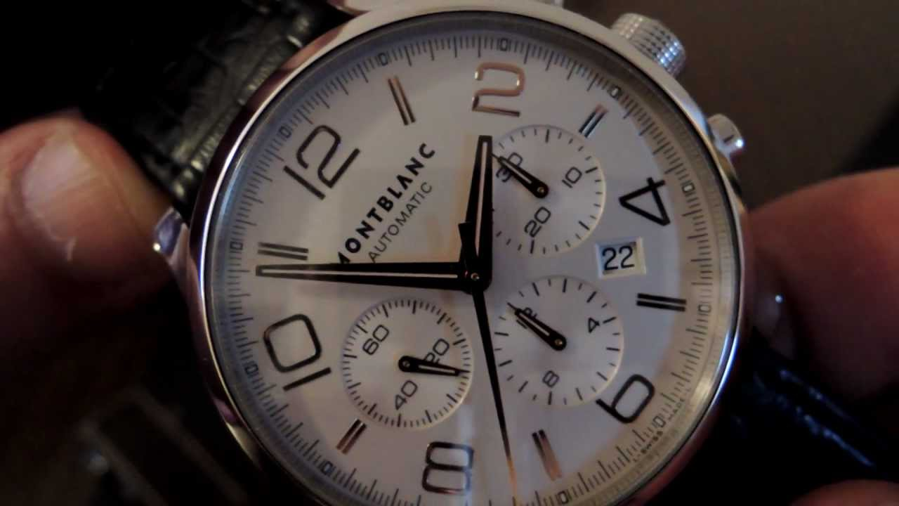 af76a252f31 MontBlanc Timewalker Automatic Chronograph. Angel Watches