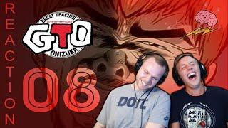SOS Bros Reacts - Great Teacher Onizuka Episode 8 - Great References Onizuka!!!