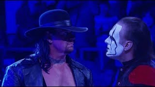 Sting Returns And Calls Out The Undertaker 2018!