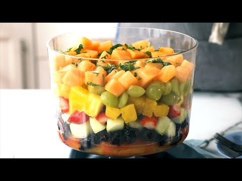 How to Make Seven-Layer Fruit Salad | EatingWell