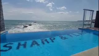 24시간 새로운 물공급,교체되는 인피니티 수영장